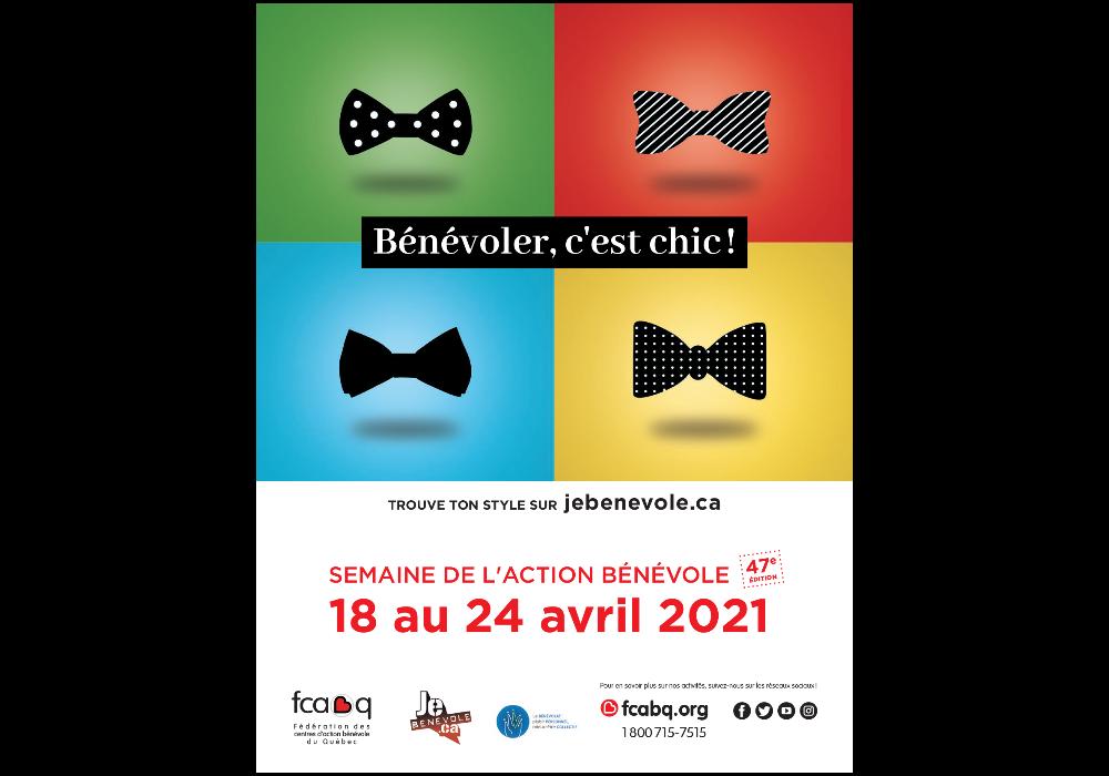 Semaine de l'action bénévole 2021